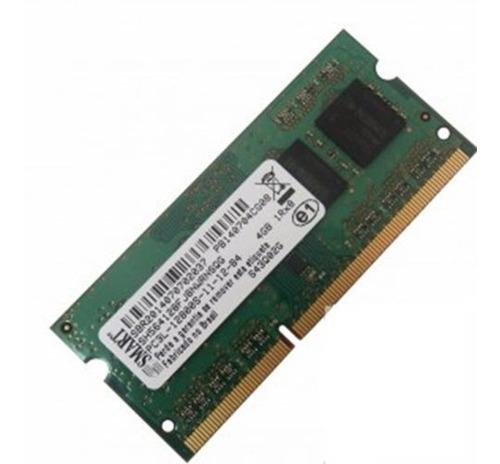 Imagem 1 de 1 de Memória Smart 4gb, 1600mhz, Ddr3l, Notebook