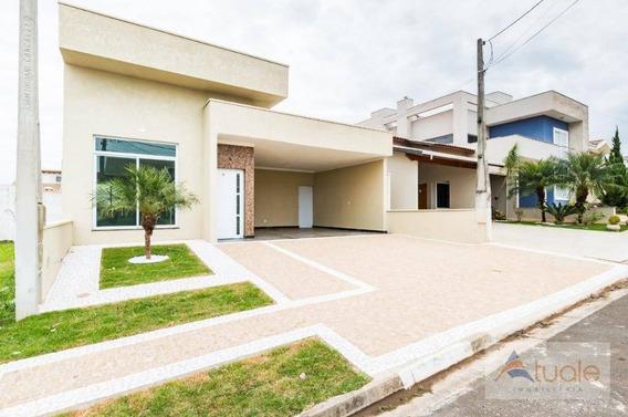 Casa Com 3 Dormitórios À Venda, 169 M² - Jardim Planalto - Paulínia/sp - Ca6348