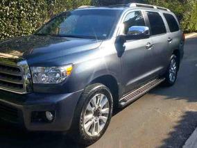 Toyota Sequoia Blindada Premium Aa R-20 Piel Qc Dvd At