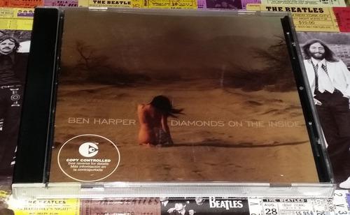 Ben Harper - Diamonds On The Inside - Cd P2003 Promo Nuevo!