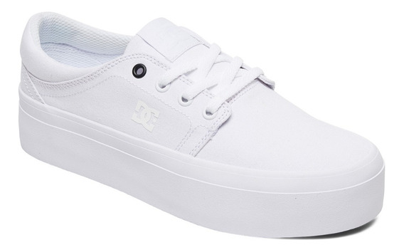Zapatillas Dc Platform Tx Full White