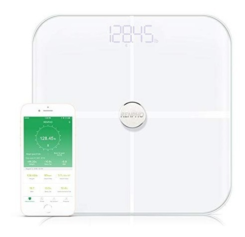 Renpho - Báscula De Baño Digital Con Bluetooth, Báscula De