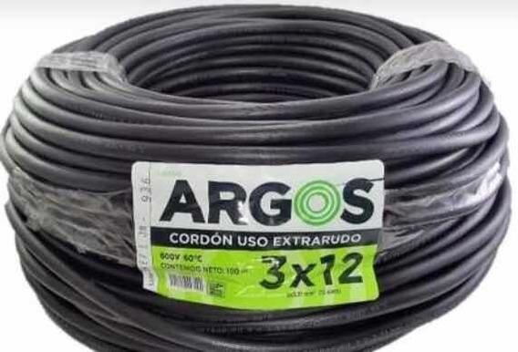 Cable Uso Extra-rudo Argos 3x12 (100m)