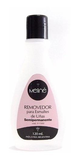 Meline Removedor Para Esmalte Uñas Semipermanentes 120 Ml
