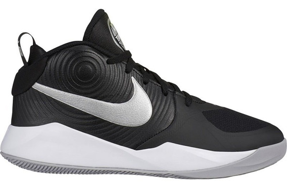 Tenis Nike Team Hustle D 9 Negro/gris Aq4224 001