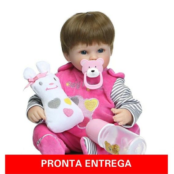 Boneca Realista Bebê Reborn Original Pronta Entrega