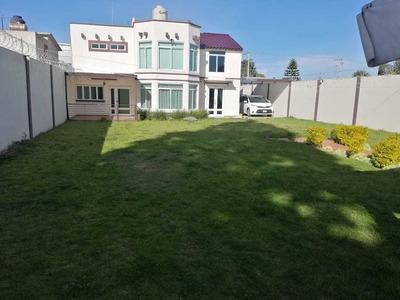 ¡¡residencia Fabulosa En Tlaxcala¡¡, Amplio Jardín Y Terraza