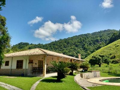 Fazenda Em Centro, Silva Jardim/rj De 1742400m² 4 Quartos À Venda Por R$ 3.490.000,00 - Fa102644