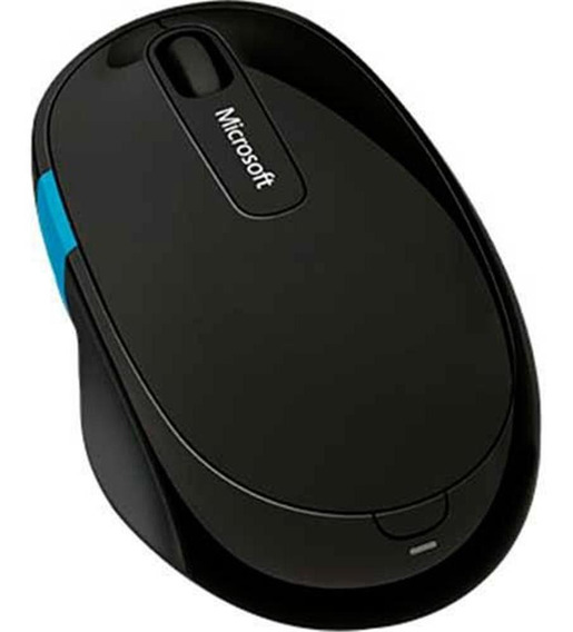 Mouse Microsoft Wireless Sculpt Ergonomic L6v-00009 - Preto