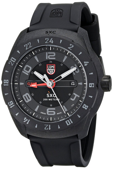 Relogio Luminox 5021.gn Sxc Space Gmt Carbon Night Vision