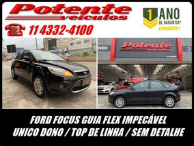 Ford Focus Ghia 2.0 16v Flex, Ejs9375
