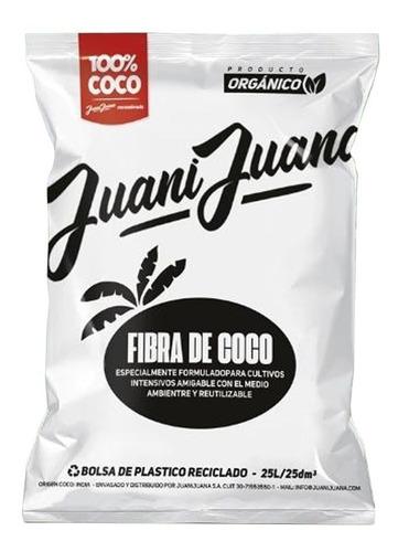 Fibra De Coco Juani Juana 25l 100% Coco Cogoshop Grow