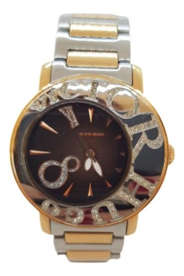 Relógio Feminino Misto Victor Hugo -vh10044lsr/02m
