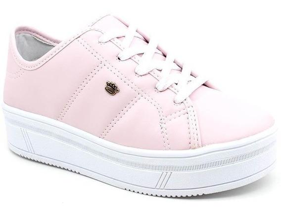 Tênis Infantil Pink Cats V0424 Rosa Loja Pixolé
