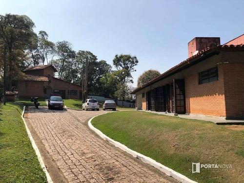 Chácara Com 5 Dormitórios À Venda, 6500 M² Por R$ 4.500.000,00 - Chácara Santa Lúcia - Carapicuíba/sp - Ch0033