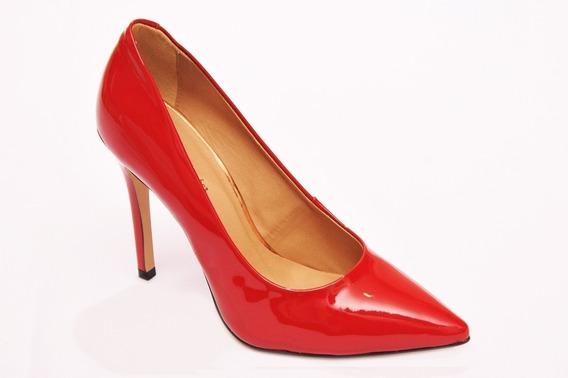 Sapato Feminino Bico Fino Scarpin Salto Alto Bebe Promocao