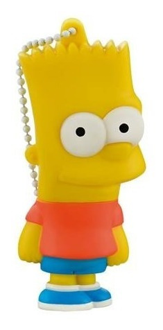 Pen Drive Bart Simpsons 8gb Pd071 Multilaser