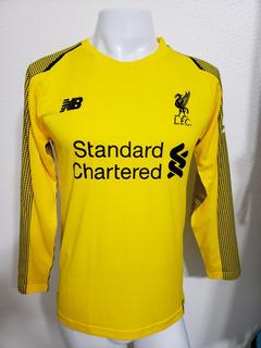 Camisa Liverpool Amarela Goleiro 18-19 Manga Longa Imp