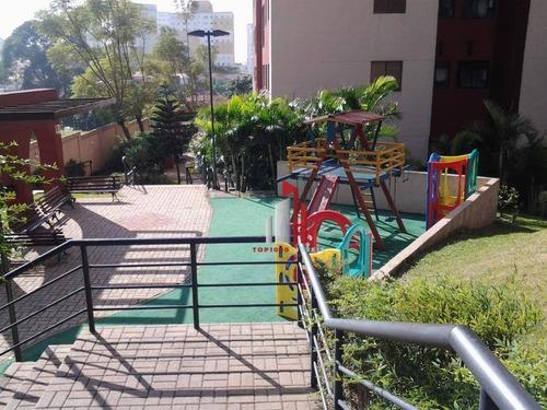 Imagem 1 de 24 de Apartamento Com 2 Dormitórios À Venda, 50 M² Por R$ 270.000,60 - Vila Bandeirantes - São Paulo/sp - Ap0232