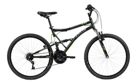 Bicicleta Mtb Caloi Xrt Aro 26 - 21 Velocidades - Preto