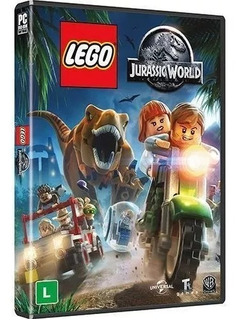 Lego Jurassic World Br Pc Midia Fisica