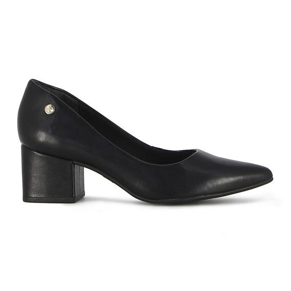 Zapato Via Uno De Mujer T/bajo Cuadr.