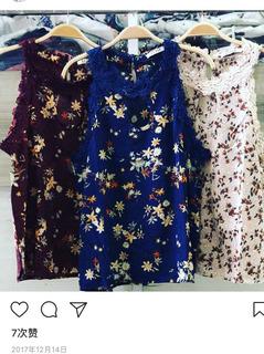 Blusas Floral Confortáveis