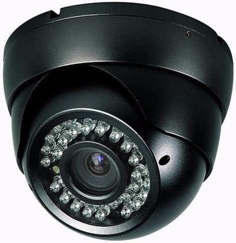 1200 Linhas Definição Cut Camera Segurança Dome C/ Ir On Top