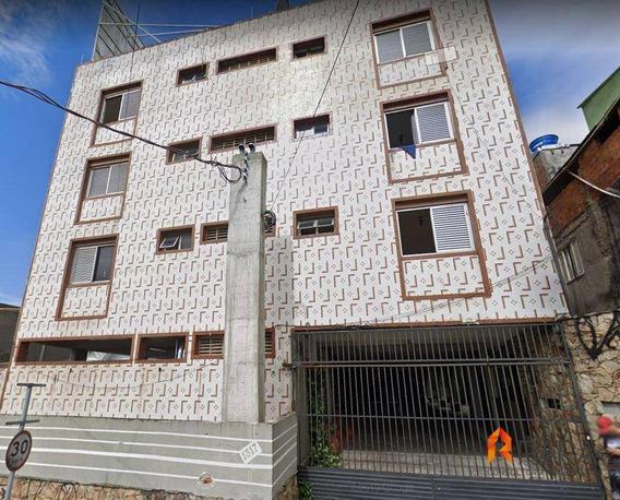 Kitnet Com 1 Dormitório Para Alugar, 20 M² Por R$ 660/mês - Planalto - São Bernardo Do Campo/sp - Kn0014