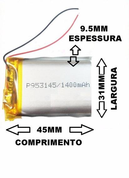 Bateria 2 Fios Gps 1400 Mah