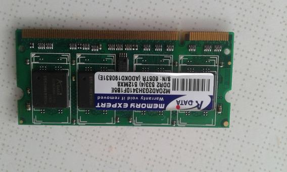 Memória Ram Ddr2 512mb