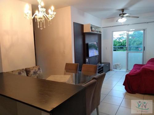 Apartamento Para Venda Em Mogi Das Cruzes, Mogi Moderno, 3 Dormitórios, 1 Suíte, 2 Banheiros, 2 Vagas - Ap0238_2-1163843