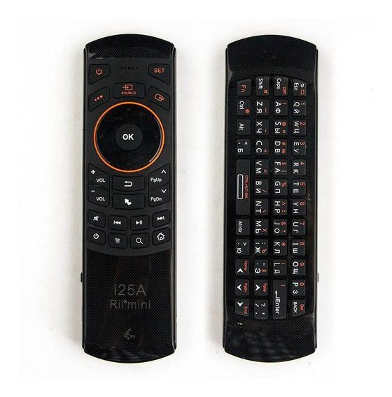 I25a Air Mouse Voz Inteligente Controle Remoto Com Teclado