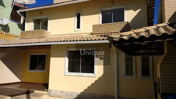 Casa Com 3 Dormitórios À Venda, 115 M² Por R$ 550.000 - Centro - São Pedro Da Aldeia/rio De Janeiro - Ca0707