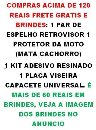 Manicoto Direito Biz Cromado + Brinde