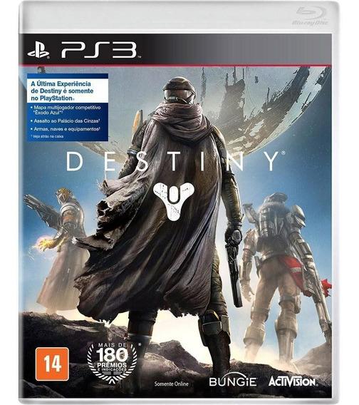 Destiny Ps3 Original Lacrado Todo Em Pòrtuguês Mídia Física