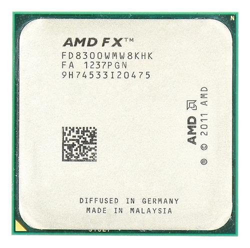 Imagem 1 de 2 de Processador Amd Fx 8300 3,30ghz 8mb Socket Am3+