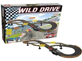 Pista De Autos Hot Racing Wild Drive Nissan Gtr 63334