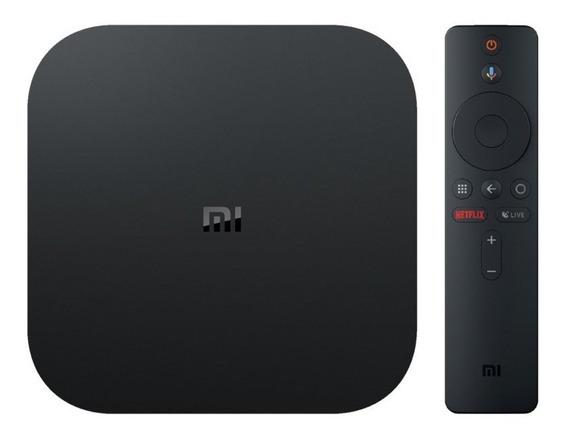 Receptor Fta Xiaomi Mi Box S M19e Android 8.1 4k Wifi Bivolt