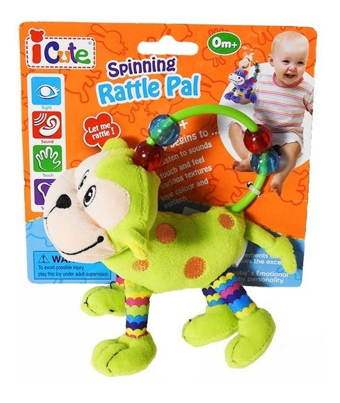 Q Baby Animals Sonajero Mono Qt60020