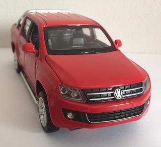 Miniatura Volkswagen Amarok C Luz E Som 1:30