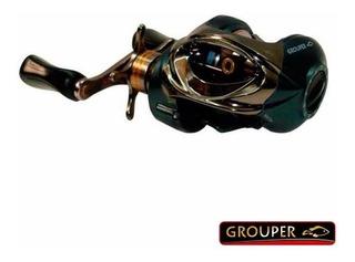 Reel Grouper Arax C 300 Baitcasting Tipo Huevito 4 Rulemanes