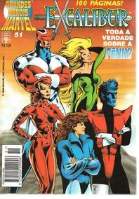 Lote Grandes Herois Marvel 51 Ao 57 - Bonellihq Cx408 B19