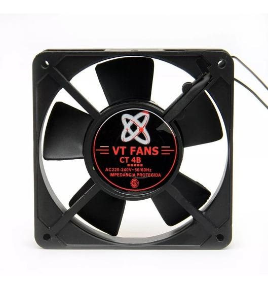 Turbina Cooler 40 X 40 X 10 12 Volts 3 Cables Buje Rpm