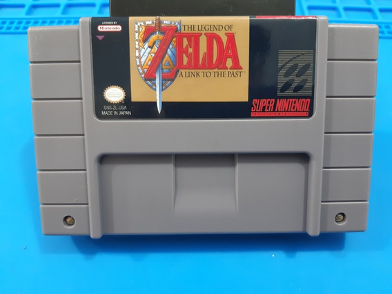Cartucho De Super Nintendo The Legend Of Zelda Em Português