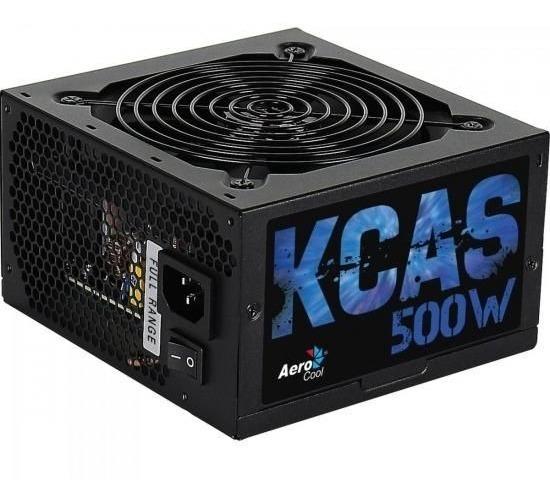 Fonte Atx S/cabo 500w Kcas En53367 Preto Aerocool