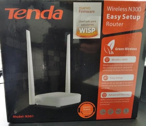 Rebajas!!! Router Inalámbrico Tenda (mod. N301)