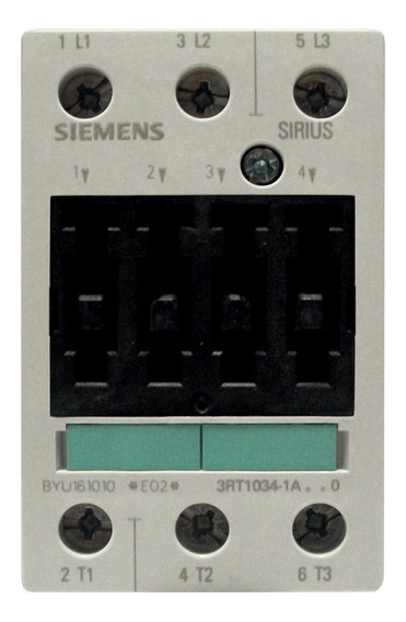 Contactor Siemens 32 Amp Ac-3 110v 3rt1034-1ag20