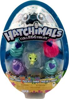 Hatchimals Colleggtibles Pack 4 Bonus Hatchn Splash Spin