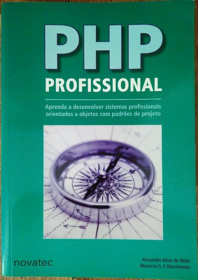 Livro Php Profissional (2007 - Novatec) Frete Gratis